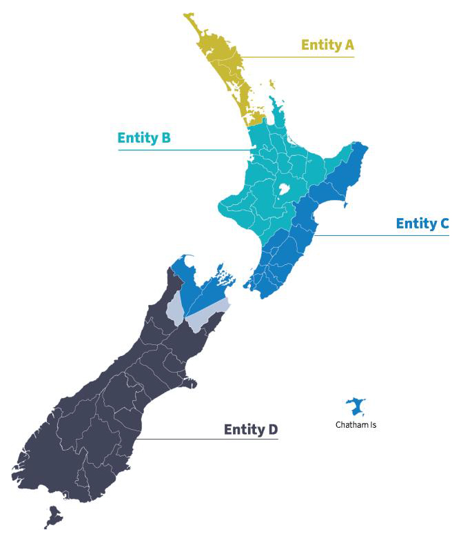 Govt Proposed 3 waters maps