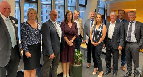 Ashburton delegation to Parliament initiates pathway for addressing NPS on Freshwater Management