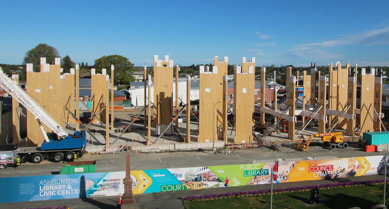 Civic centre construction site