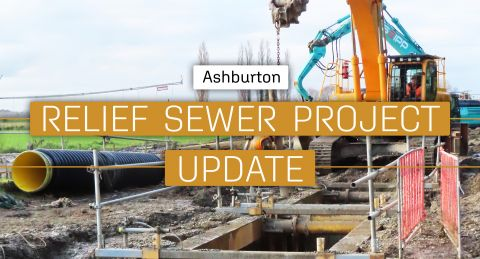 Ashburton Relief Sewer Project Update for the week of 2 August 2021