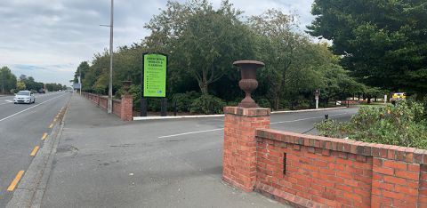 Ashburton Domain gates closing after-hours